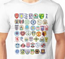 Football teams Unisex T-Shirt