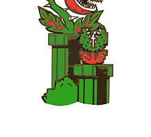 Pirhana Plant MARIO  by urgotv
