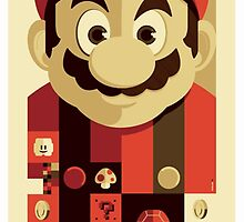 Mario by Solbessx