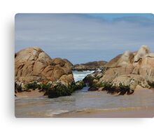 Clinton Rocks Canvas Print