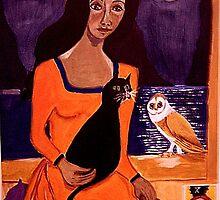 La Papesse by Rusty  Gladdish