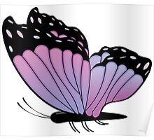 Colorful Butterfly 2 Poster