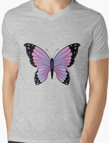 Colorful Butterfly 3 Mens V-Neck T-Shirt