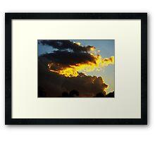 Sunshine Coast Sunset Framed Print