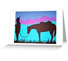 Mountians Call Greeting Card