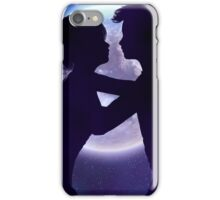 Couple silhouette in the night 2 iPhone Case/Skin