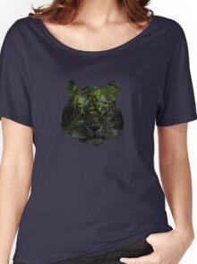 Tiger Spirit forrest Women's Relaxed Fit T-Shirt