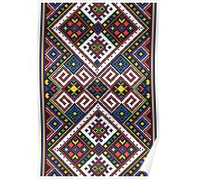 Eastern European Ornamental Pattern Poster