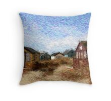 A visit with Van Gogh......... Throw Pillow