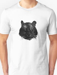 Tiger in black and white T-Shirt