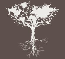 Earth tree *pearl white Kids Clothes