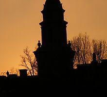 plaza sunset by photogrl000