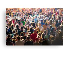 Part of the Crowd Metal Print