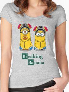 Breaking Banana Women's Fitted Scoop T-Shirt