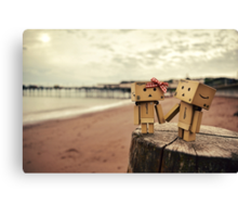 A Day At The Seaside. Canvas Print