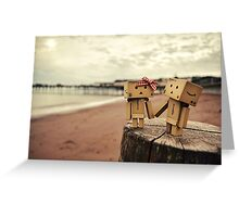 A Day At The Seaside. Greeting Card
