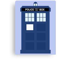 The TARDIS Canvas Print