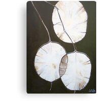 Tissue Paper Flower Canvas Print