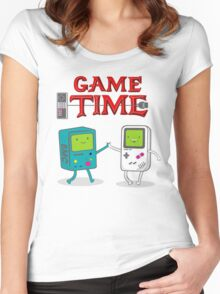 Game Time Women's Fitted Scoop T-Shirt