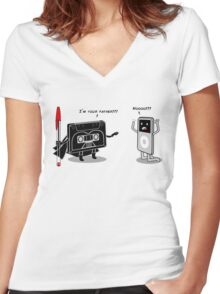 I´m your father!!! Women's Fitted V-Neck T-Shirt