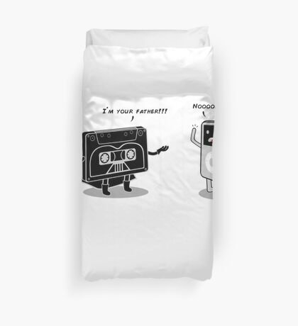 I´m your father!!! Duvet Cover
