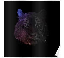Space Tiger Cool Pretty Hipster Universe Poster
