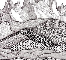 Patterns on Patagonia by Laura Maxwell