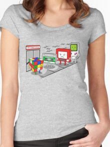 Employment office Women's Fitted Scoop T-Shirt