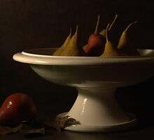 Still life with pears by Sashy