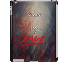 TRUST MY RAGE iPad Case/Skin