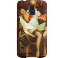 Gil Elvgren Pin Up Librarian Samsung Galaxy Case/Skin