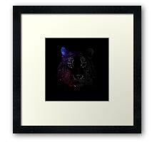 Space tiger2 Framed Print