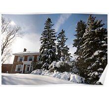 Winter Estate Poster