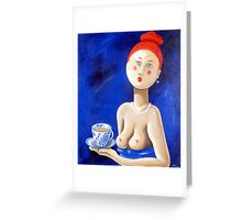 Girls Night Out - England Greeting Card