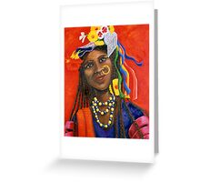 Girls Night Out - India Greeting Card
