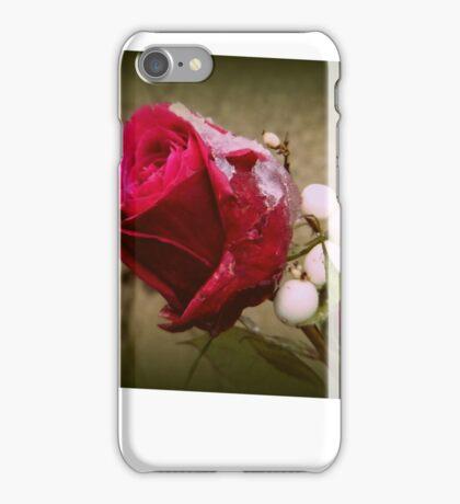 Christmas Rose iPhone Case/Skin