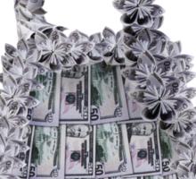 Millionaire Handbag Sticker