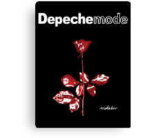 Depeche Mode : Violator Paint CD -With Name- Canvas Print