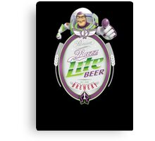 Buzz Lite Beer Canvas Print