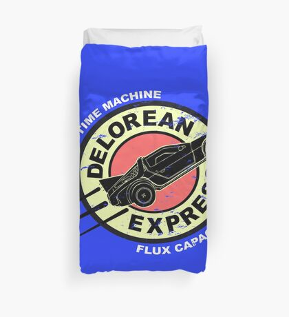 Delorean Express Duvet Cover