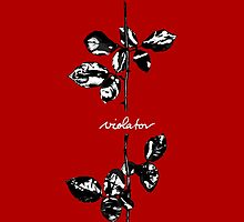 Depeche Mode : Violator Paint LP -Black & White- by Luc Lambert