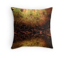 Upper Emerald Pool, Zion Throw Pillow