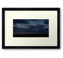 0809 - HDR Panorama - Comfortable Sky Framed Print