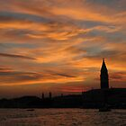 Venice, from the ferry by Peter L