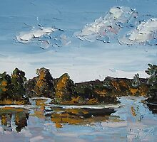 Landscape Reflection 2 by Trisha Lamoreaux
