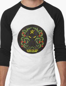 Merry Cthulmas Men's Baseball ¾ T-Shirt