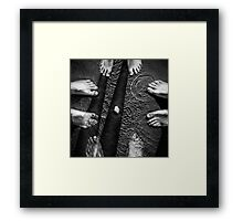 Hey! I think it moved! Framed Print