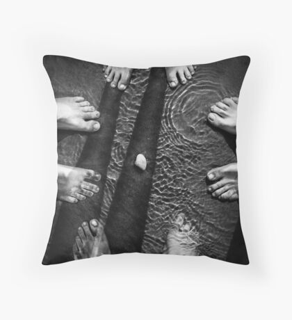 Hey! I think it moved! Throw Pillow