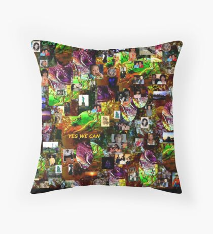 WE ARE THE WORLD Throw Pillow