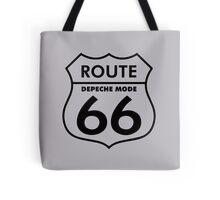 Depeche Mode : Route 66 - Black - Tote Bag